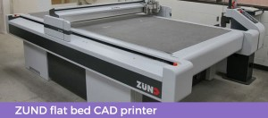 Zund cad printer at first packaging
