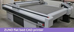 Zund cad printer at first packaging